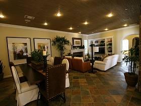 美式美式風格客廳裝修案例