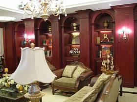 美式美式風格客廳設計方案