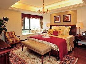 美式鄉村風格臥室設計方案