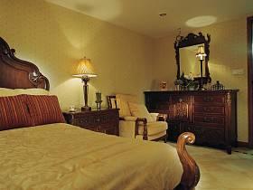 美式古典美式古典风格古典风格卧室装修案例