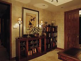 美式古典美式古典風格古典風格過道案例展示