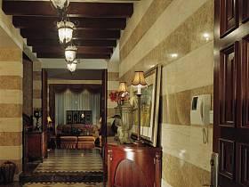 美式美式风格别墅过道设计案例