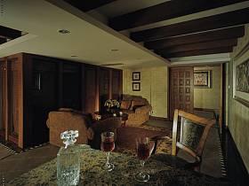 美式美式风格别墅休闲区设计方案