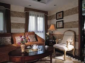 美式美式風格別墅休閑區案例展示