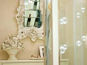 歐式歐式風格玄關玄關柜裝修圖