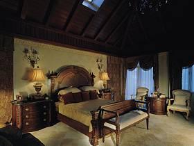 美式美式風格臥室別墅圖片