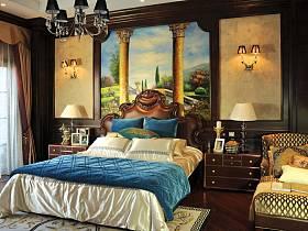 美式美式風格臥室裝修圖