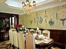 美式美式風格餐廳裝修效果展示