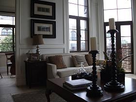 美式美式风格客厅装修效果展示
