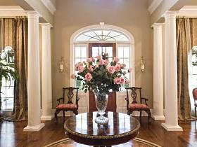 美式美式风格大厅效果图