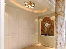 簡歐簡歐風格玄關玄關柜裝修效果展示