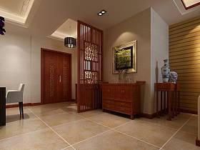 中式玄關玄關柜裝修效果展示