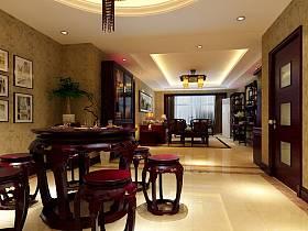 中式中式风格餐厅设计图