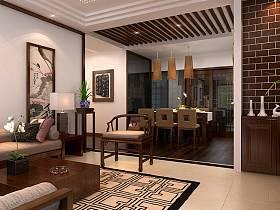 中式中式风格餐厅图片