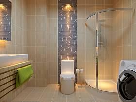 浴室淋浴房效果圖