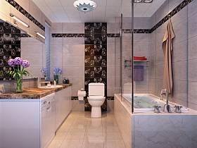 浴室淋浴房设计案例