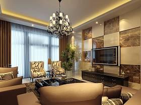 客厅沙发单人沙发效果图