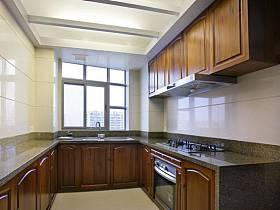 中式中式风格厨房40平米140平米装修效果展示