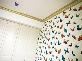 后现代卧室壁纸设计图