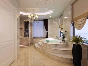 法式卫生间别墅案例展示