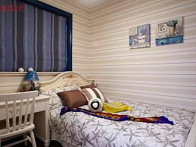 地中海卧室窗帘案例展示