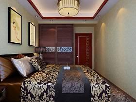 中式卧室衣柜装修图