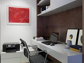 现代简约书房装修效果展示