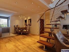 簡歐過道樓梯設計方案