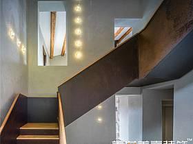 现代过道楼梯效果图