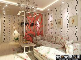 简约简约风格客厅吊顶背景墙沙发客厅沙发设计方案