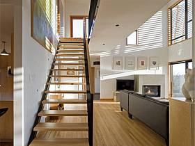 现代现代风格别墅楼梯设计案例