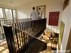 现代现代风格别墅过道设计方案
