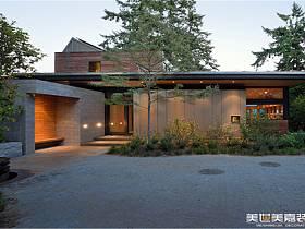 现代现代风格别墅装修效果展示