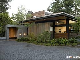 现代现代风格别墅装修图