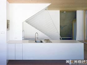 现代现代风格厨房别墅案例展示