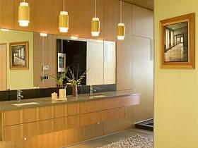 现代现代风格卫生间别墅效果图