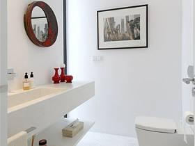 现代现代风格卫生间别墅案例展示