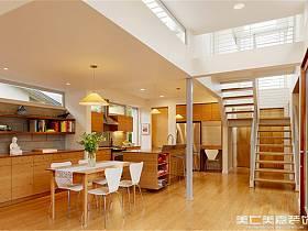 现代现代风格别墅过道楼梯案例展示