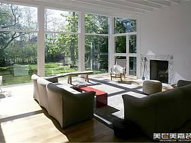 现代现代风格客厅别墅设计方案
