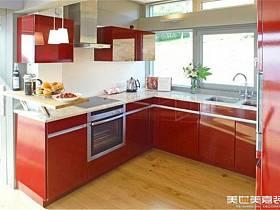 现代现代风格厨房别墅图片