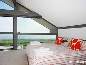 现代现代风格卧室别墅设计图
