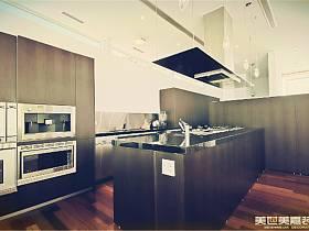 现代现代风格厨房图片