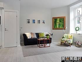 北欧北欧风格客厅设计案例