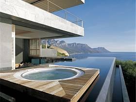 现代现代风格别墅休闲区装修图