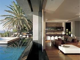 现代现代风格别墅休闲区设计图