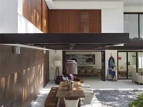 现代现代风格餐厅别墅装修案例