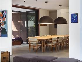 现代现代风格餐厅别墅吊顶设计图