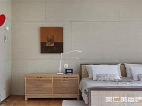 现代现代风格卧室别墅装修案例