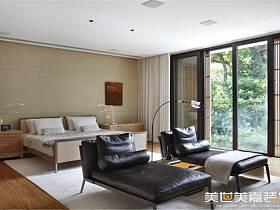 现代现代风格卧室别墅效果图