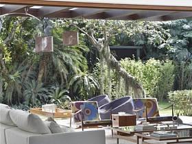 现代简约现代简约简约风格现代简约风格别墅休闲区效果图